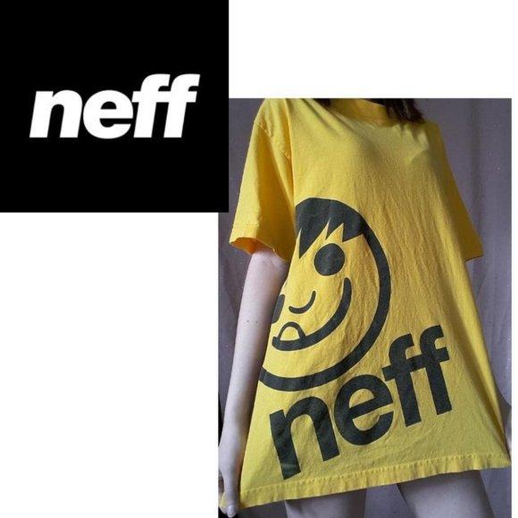 Neff Bigface Logo T-Shirt - Men's L
